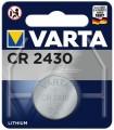 LITHIUM BATTERY 3V CR2430 VARTA 1pcs